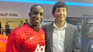 Interviewed Dwight Yorke