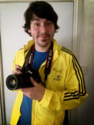 Worked on the London Marathon as a photographer