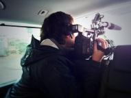 Filming Davina go beyond breaking point