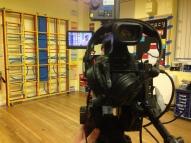 Preparing for a live into BBC Breakfast