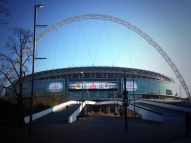 Wembley Stadium during Battle of the backsides