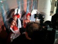Filming Jean Paul Gaultier